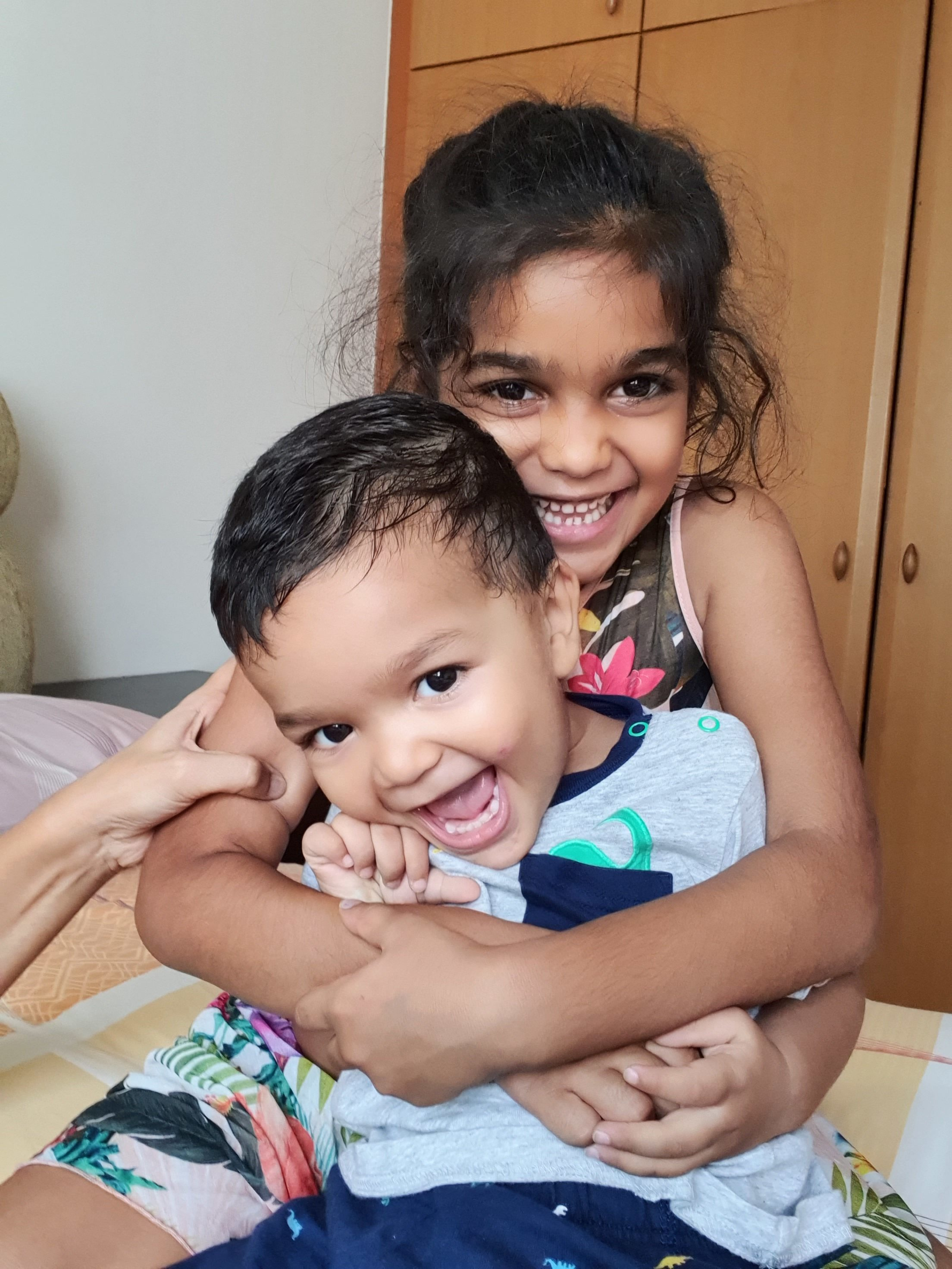 Real Vegan Children: Ahaana and Aarish